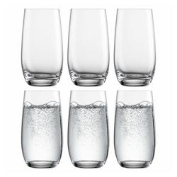 Eisch Becher 6er Set Vinezza 350 ml, Kristallglas beige