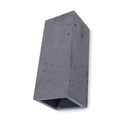 Kiom Wandleuchte Beton-Wandleuchte Guro anthrazit H: 25 cm