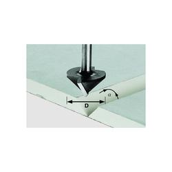 Festool Gipskartonfräser Fräser HW Schaft 8 mm D32/90° 491001 Oberfräse OF 1400