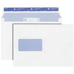 MAILmedia Briefumschläge Cygnus Excellence® DIN C5 mit Fenster weiß 25 St.