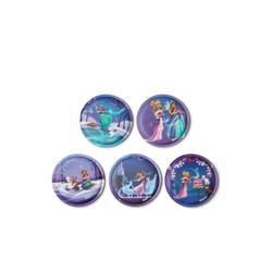 ergobag Schulranzen Klettie-Set 5er Prinzessin auf dem Eis lila