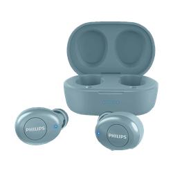 PHILIPS T2205BL/00, In-ear Kopfhörer Bluetooth Blau