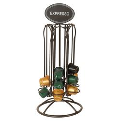 AnticLine Kaffeedose Kaffeekapselhalter Kapselhalter Kapselspender Kaffee Metall Antic Line SEB16852