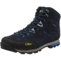 CMP Herren ALCOR MID Trekking Shoes WP Walking Shoe, Blue Ink, 43 EU