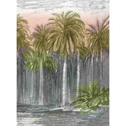 Art for the home Leinwandbild Palmendschungel, Pflanzen