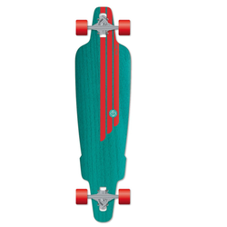 Flying Wheels Skateboard 38,5 Rig Türkis skateboard cruiser