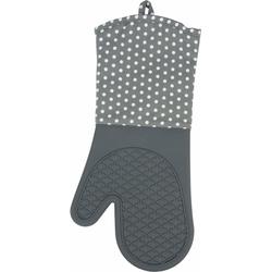 WENKO Topfhandschuhe, (Set, 2 tlg.), aus Silikon grau Topflappen und Topfhandschuh Kochen Backen Haushaltswaren Topfhandschuhe
