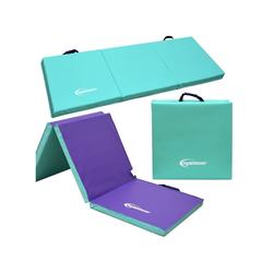 eyepower Fitnessmatte XL Gymnastikmatte Sport-, Turn- und Bodenmatte, Weichbodenmatte mint