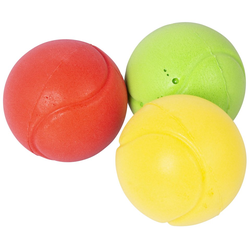 Soft-Tennisball, 3er-Set