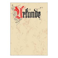 Motivpapier »Urkunde« DP548 beige, Sigel, 21x29.7 cm