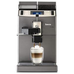 Saeco Kaffeemaschine mit Mahlwerk Lirika One Touch - Kaffee-Vollautomat - titan