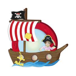 URSUS Laterne Laternenbastelset Pirat