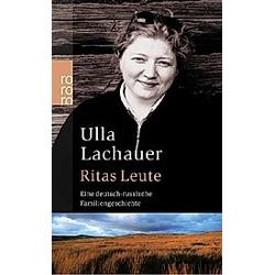 Ritas Leute. Ulla Lachauer  - Buch
