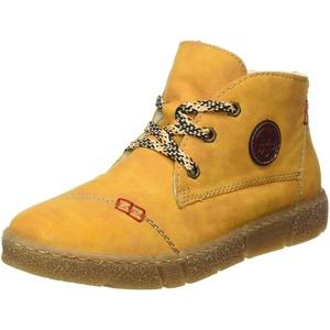 Rieker Damen N1740 Mode-Stiefel, Gelb, 41 EU