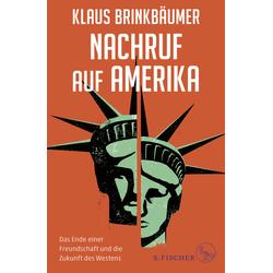 Nachruf auf Amerika als Buch von Klaus Brinkbäumer