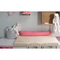 SMARTRIKE smarTrike® Wickelauflage toTs Wickelmatte Joy Rabbit pink, mit Rolle