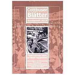 Cottbuser Blätter. Peter Lewandrowski  - Buch
