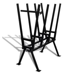 vidaXL Sägebock Sägebock für Holzsägearbeiten schwarz