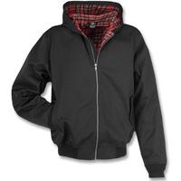 Brandit Textil Brandit Lord Canterbury Jacke Hooded schwarz, Größe XXL