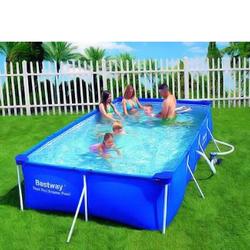 Bestway Swimmingpool Aufstellpool Pool Gartenpool Set 4x2m rechteckig