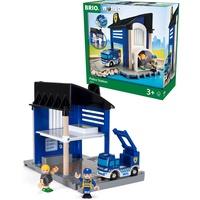 BRIO Polizeistation mit Einsatzfahrzeug (33813)