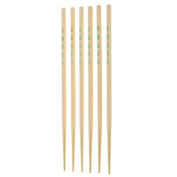 Chopsticks Asia Bambus hellbraun 10Paar 26,5cm
