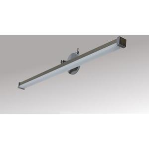 TRANGO LED Spiegelleuchte, 2250 Modern LED Spiegelleuchte *EASY* Badleuchte 475mm lang mit schwenkbar und drehbar Flexarm Schminklicht, Badezimmer Spiegellampe mit Klemmvorrichtung inkl. ON/OFF Schalter 7 Watt 3000K warmweiß