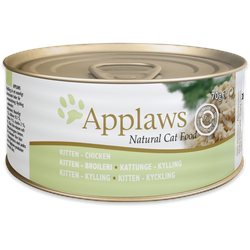 Applaws Kitten Hühnchenbrust Katzenfutter Nassfutter (6 x 0,07 kg)