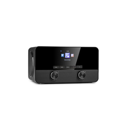 Auna Connect 100 SE SE Internetradio Mediaplayer Bluetooth WLAN USB AUX Line Out Radio (10 W, Bluetooth, mit Bluetooth, 2.1 System mit FM/DAB+, WLAN, Bluetooth)
