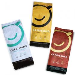 "Kaffeebohnen-Set ""Caprissimo Trio"", 3 kg"