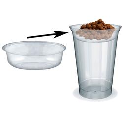 Einsatz für PET-Trinkbecher Smoothiesbecher Dessertbecher mit Ø 95 mm, 100 Stk.