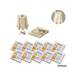 Petromax Kohlekorb 10er Set Feuerkit kit - Praktische Anzündhilfen