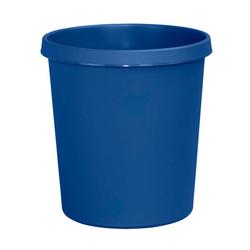 Helit Papierkorb H61058, 18 Liter blau