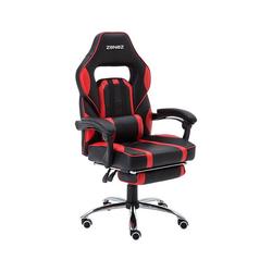 ZENEZ Schreibtischstuhl Chefsessel, Gaming Stuhl rot