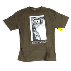 Tshirt DGK - Always 100 Tee Military (MILITARY) Größe: M