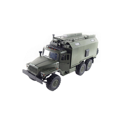 Amewi Spielzeug-Auto Ural B36 Militär LKW 6WD RTR 1:16, grün