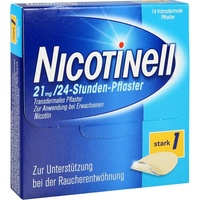 Nicotinell 24-Stunden 21 mg Pflaster 14 St.