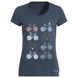 VauDe Damen Cyclist V Fahrrad-T-Shirt, 38