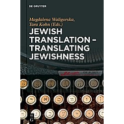 Jewish Translation  Translating Jewishness - Buch
