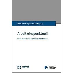 Arbeit einspunktnull - Buch
