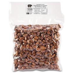 Taiga Naturkost - Kakaobohnen - Bio - Rohkost-Qualität - 1000 g