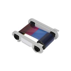 R2213 - Einfarbiges Farbband - rot - 600 Karten/Rolle (für Tattoo-Drucker)