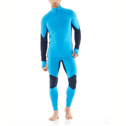 Icebreaker 260 Zone Leggings Herren Leggings blau M