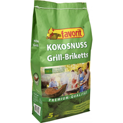 Favorit Kokos Grillbriketts 5 kg