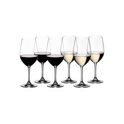 RIEDEL Glas Weinglas Vinum Weinglas Riesling 6er Set - 265 Jahre, Glas