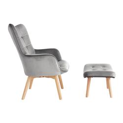 Sessel+Hocker im Set