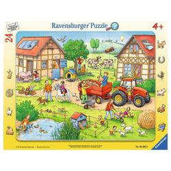 Ravensburger Rahmenpuzzle Mein Kleiner Bauernhof - Rahmenpuzzle, 25 Puzzleteile