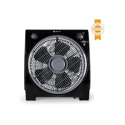 Tecvance Tischventilator, Box-Ventilator mit vier Stufen und timer