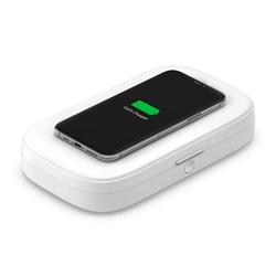 Belkin Ladestation UV Sanitizer mit Wireless Charging weiß