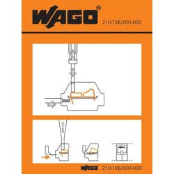 WAGO 210-188/001-000 Handhabungsaufkleber 100St.